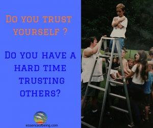 Do you have a hard time trusting